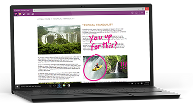Windows 10 contains Microsoft's redesigned new browser, Edge. Available from Insight.