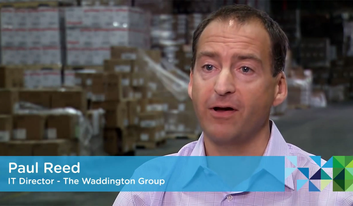 See how vSOM helped Waddington Group meet growth demands