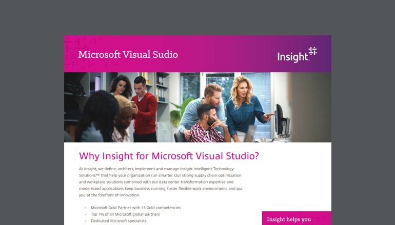 Microsoft Visual Studio thumbnail