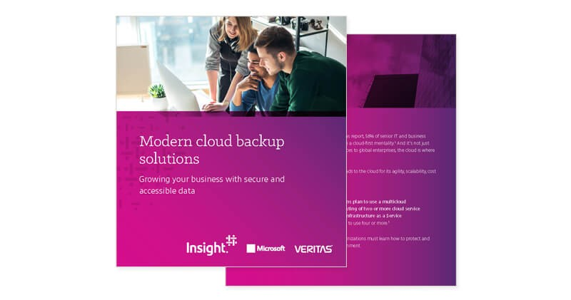 Moder cloud backup solutions cover