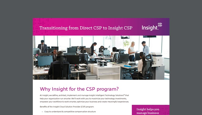 Transitioning to Insight CSP thumbnail